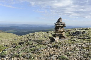 A Cairn Along the way (just before the AK border)